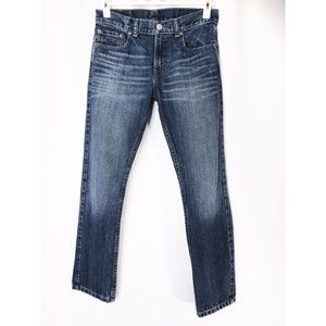 Levi's Woman's Slim Straight Blue Jeans Size 14r